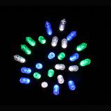 LED cadeau de décoration en corne de lumière de Noël avec artisanat en verre (LB100.5mm)