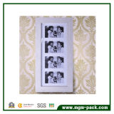 Gabinete de almacenamiento de espejo con marco de fotos