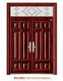Изготовление Китая двери входа стальное (FD-1093)