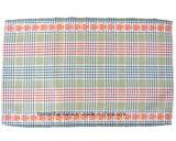 O produto do OEM personalizou a esteira de lugar Home bonito bordada logotipo da tabela do uso do algodão