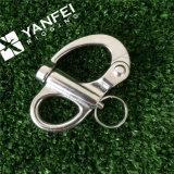 固定目が付いているステンレス鋼のスナップの手錠