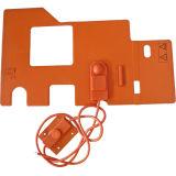 Silicone Waterproof Elemento de aquecimento flexível IP68 Silicone Heater