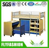 Уникальные двухъярусная кровать со столом и шкафом в низкой цене двухъярусная кровать с изучения таблицы (BD-12)