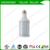 35W 6kv 큰 파도 보호 160lm/W 국가 야드 또는 정원 빛을%s 70W/100W에 의하여 숨겨지는 보충 LED 옥수수 전구