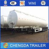 remorque diesel d'essence de camion-citerne de la hache 60m3 4 pour l'usage multi