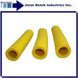 Промышленные практикум 1,83 м желтого цвета изоляции трубопровода
