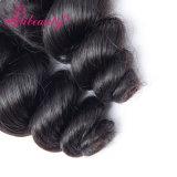 Slacciare le estensioni naturali dei capelli dei capelli dell'onda, onda allentata mongola del Virgin