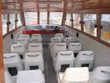 ferryboat do passageiro do táxi da água da fibra de vidro 28feet com cabine (Aqualand 860)