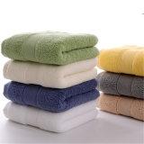 100%년 면 수건 목욕 손 지면 세수 수건 제조자 (TOW-004)