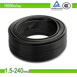SolarCable 4sqmm TUV UVresistant 2pfg 1169 PV1-F 4mm2 PV Cable