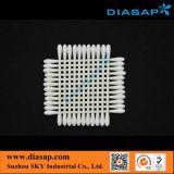 Tamponi di cotone della stanza pulita per la fibra di Optial