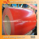 Heiß/walzte galvanisiert das vorgestrichene/Farbe beschichtete gewellte materielle Dach-Metall des Stahl-ASTM PPGI kalt