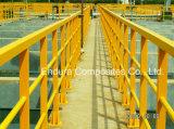 GRP/FRP 단면도 또는 반대로 UV 또는 Anti-Corrosion 또는 내화성