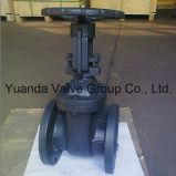 Válvula gaveta de haste não ascendente de ferro fundido classe 125 ANSI extremidade flangeada FF/RF