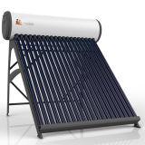 Compacto calentador de agua solar de tubos de vacío Booster-Type