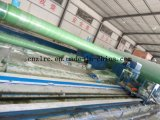 Tubo de plástico reforzado con fibra de GRP bobinado de la línea de producción maquinaria de China Zlrc