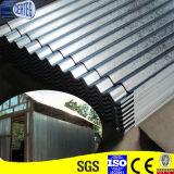 Prezzo d'acciaio galvanizzato dello strato del tetto ondulato G550