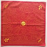 Выполненная на заказ конструкция Silk Bandana квадрата хлопка печатание