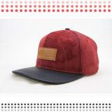 Chapéu de couro do Snapback de 2016 chapéus do camionista da forma