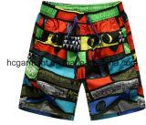 Nylon ткань всходит на борт краткостей, краткостей пляжа человека напечатанных камуфлированием
