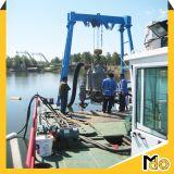 De Pomp van Submersibel van de Zuiging van het Zand van de rivier met Schip