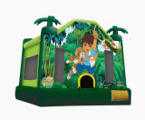 Forest Adventure Bounce House/almofada insuflável Bounce (XZ-BH-056)