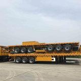 chassi Flatbed de 40FT com a carga útil 40ton