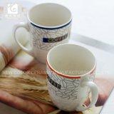 Taza de cerámica 14oz de la dimensión de una variable de la taza/del tambor del té de Liling China