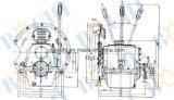 Welle eingehangenes sequenzielles Marinegetriebe
