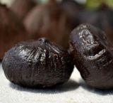 健全な、有機性単一の球根の黒のニンニクの単一のクローブの黒のニンニク