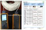 묵에 의하여 채워지는 2pair 하락 전화선 또는 컴퓨터 케이블 데이터 케이블 커뮤니케이션 케이블 연결관 오디오 케이블