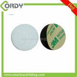 etiqueta tamaño pequeño de la etiqueta engomada del PVC NFC RFID de la dimensión de una variable del círculo o del cuadrado
