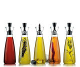 Glaspfeffer-Glas stellt Würze-Glasflasche für Gewürz/Sojasoße/Essig ein