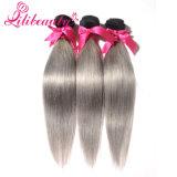 Человеческие волосы Remy девственницы Ombre 2 тонов прямые