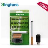 Sigaretta elettronica della cartuccia 808d dell'acciaio inossidabile del narghilé del tubo a gettare più caldo