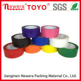 Carton de l'utilisation et d'étanchéité adhésif acrylique Ruban adhésif de couleur