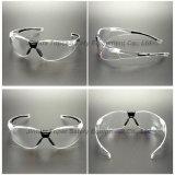 La qualité Enveloppent-Arournd les lunettes de sûreté de lentille (SG119)