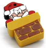 USB Flash Drive de regalo de Navidad de Santa Claus dispositivo de memoria USB Pen Drive