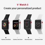 Bluetooth original Reloj inteligente de Apple V Ver 3 con la tarjeta SIM