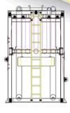 Yycb- 비 길쌈된 누산기 기계
