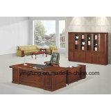 Büro-Möbel-Luxuxbüro-hölzerner vollziehendtisch Yf-3032