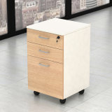 이동할 수 있는 내각을%s 가진 MFC에 의하여 박판으로 만들어지는 나무로 되는 컴퓨터 사무실 테이블 책상