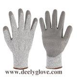 Отрежьте перчатки отрезока Hppe уровня 5