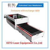 Приложение с автоматом для резки лазера волокна таблицы обменом