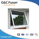 Guichet en verre de tissu pour rideaux de bâti en aluminium de constructeur pour la résidence