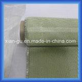 tissu d'hybride de fibre de carbone de 190g Kevlar