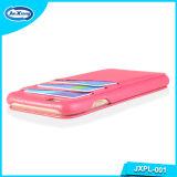 Cuir synthétique Téléphone mobile avec des emplacements de carte de cas pour l'iPhone6