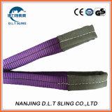 Imbracatura duplex della tessitura del poliestere di 100% per l'imbracatura di sollevamento
