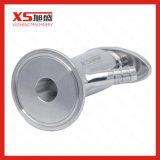Válvula sanitária da amostragem de Vsn da braçadeira