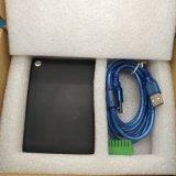 Leitor do Desktop da freqüência ultraelevada RFID do tamanho de HUAYUAN D-10X RS-232 USB2.0 mini